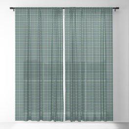 Arbuthnott Tartan Plaid Sheer Curtain