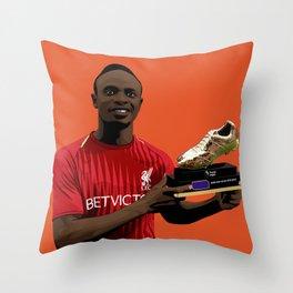 Sadio Mane Throw Pillow