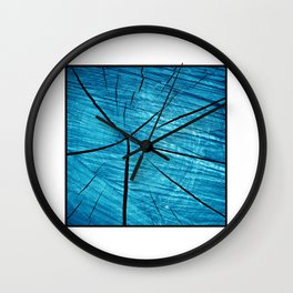 wood abstract II Wall Clock
