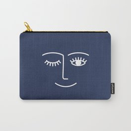Wink / Navy Carry-All Pouch