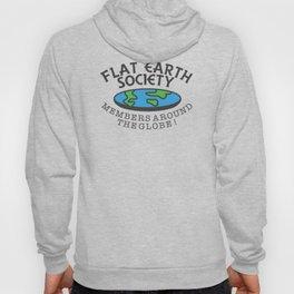 Flat Earth Society - Members Around The Globe Hoody