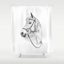 Inka horse Shower Curtain