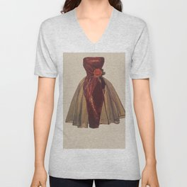 I'll Be There With Bells On #fashion #midcentury  Unisex V-Neck