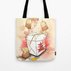 Tea Bags and Take out Tote Bag