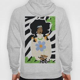 African American Bohemian Girl Hoody