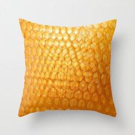 Honeycomb Morning Throw Pillow
