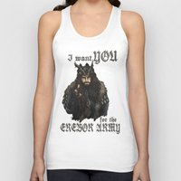 thorin Tank Tops featuring Uncle Thorin by ScottyTheCat