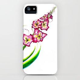 Gladiola I iPhone Case