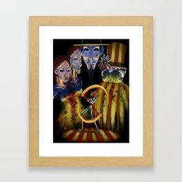 Circo di Bizarre Framed Art Print