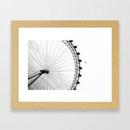 London: London Eye Framed Art Print