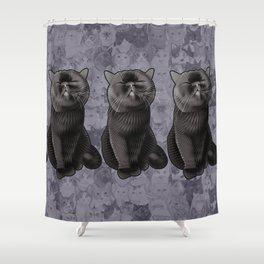 Furrybottom Shower Curtain
