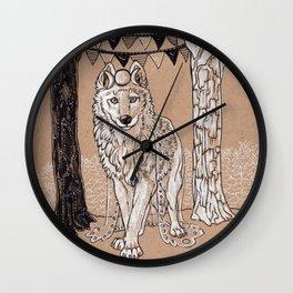 High Priestess - II Wall Clock