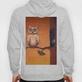 Owl in an Oak Hoody