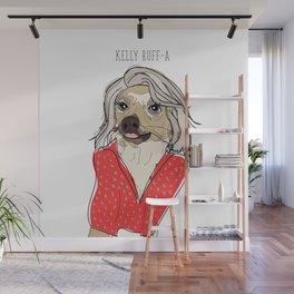 Celebrity Dogs-Kelly Ruff-A Wall Mural