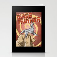 blade runner Stationery Cards featuring Blade Runner   by Joe Badon