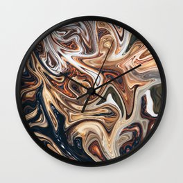 Pound the Ground Wall Clock