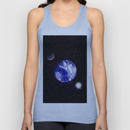 The blue Planet. Unisex Tank Top