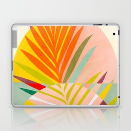 minimal leave tropical spring Laptop & iPad Skin