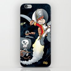 Space Pirate Gilly iPhone & iPod Skin