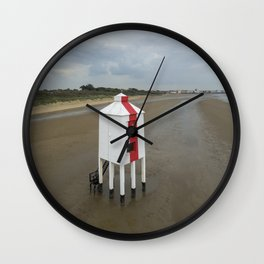 Low Lighthouse Wall Clock