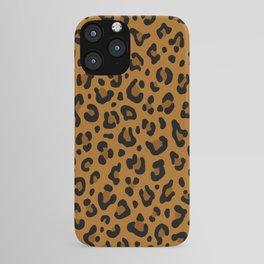 GOLDEN LEOPARD PRINT – Yellow Ocher | Collection : Punk Rock Animal Prints. iPhone Case