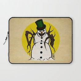 Sinister Snowman Laptop Sleeve