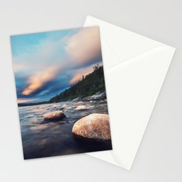 La Poile Sunset Stationery Cards