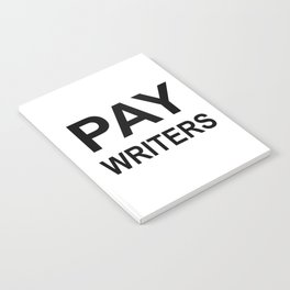 PAY WRITERS Notebook