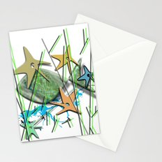 Under water motif Stationery Cards