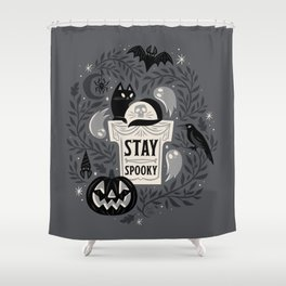 Stay Spooky Shower Curtain