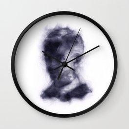 Draco Malfoy (smoke painting) Wall Clock