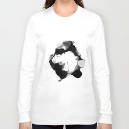 "MNIST ""ZERO"" Long Sleeve T-shirt"