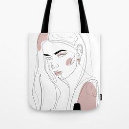 In Blush Tote Bag