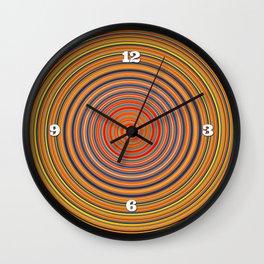 Hard Candy Swirl Wall Clock