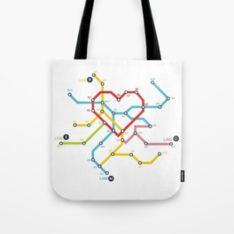 Home Where The Heart Is Tote Bag