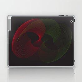 """Neon lights"" minimal geometric Laptop & iPad Skin"