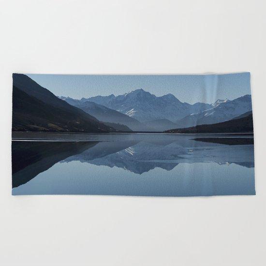 Idyllic Lake Beach Towel