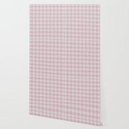 Light Pink Buffalo Plaid Wallpaper