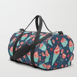 Valentine's sweets - Blue Duffle Bag