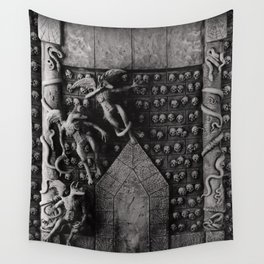 Cave Canem - Wall of Skulls Wall Tapestry