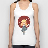 tokyo Tank Tops featuring Tokyo Girl by Freeminds