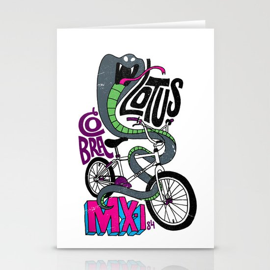 Lotus BMX Stationery Cards