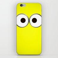 minion iPhone & iPod Skins featuring minion by cbrocoff