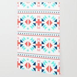 geometry navajo pattern Wallpaper