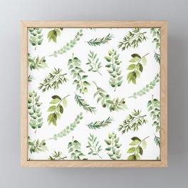 Forest in the Fall Framed Mini Art Print