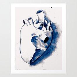 corazónB Art Print