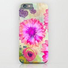 Summer garden with Butterflies Slim Case iPhone 6s