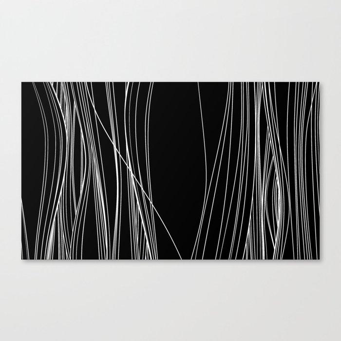 hair inferno II Canvas Print