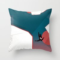 mad men Throw Pillows featuring Mad Men by PIXERS