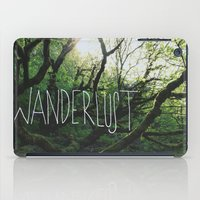 wanderlust iPad Cases featuring Wanderlust by Leah Flores